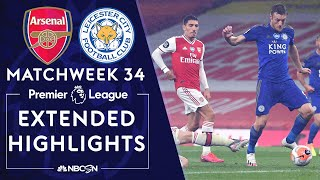Arsenal and leicester city shared the spoils at emirates as jamie vardy's late goal canceled out pierre-emerick aubameyang's opener. #nbcsports #premierl...