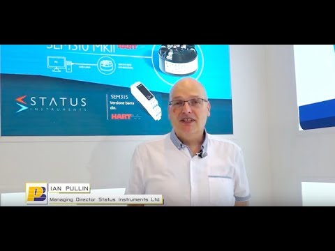 SPS IPC DRIVES Parma 2017 - Interview with Ian Pullin |Status Instruments Ltd