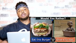 WOULD YOU RATHER - 10 Hardest Choices Ever | Reaction