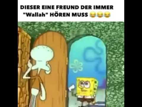 Spongebob sag Vallah?