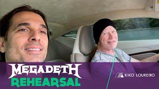 Megadeth Rehearsal