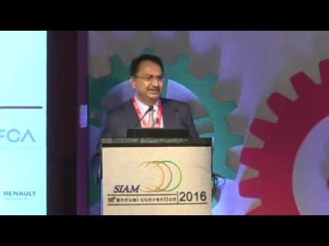 Opening Remarks by Mr Vikram Kirloskar, Past President, SIAM & Vice Chairman, Toyota Kirloskar Motor