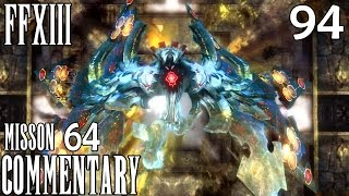 Final Fantasy XIII PC Walkthrough Part 94 - Mission 64 Vercingetorix No Gestalt Poison Trick