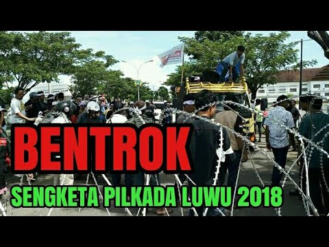 Sengketa Pilkada Luwu. 24 Februari 2018