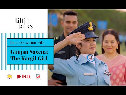 Tiffin Talks With Jahnvi Kapoor And Pankaj Tripathi On Gunjan Saxena The Kargil Girl Netflix Youtube