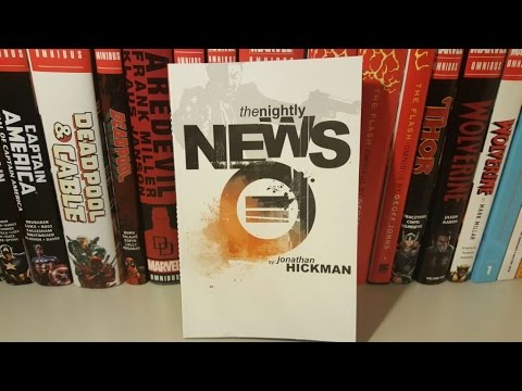 The Nightly News By Jonathan Hickman Overview