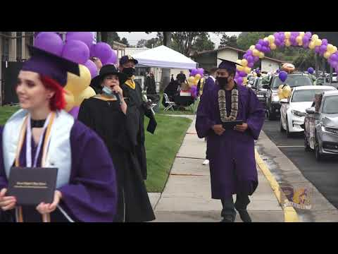 Ernest Righetti High School Graduation Parade 2020