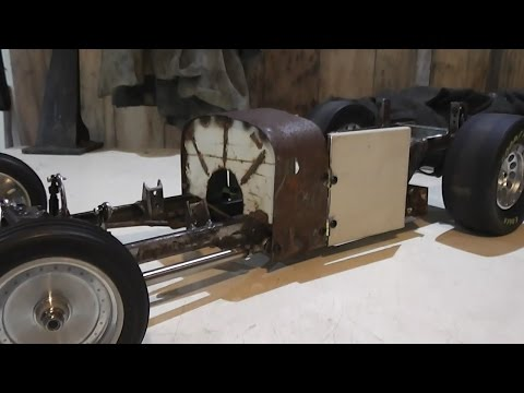Rust Never Sleeps (part 26) RC Rat Rod charity auction build for Cancer Society NZ.