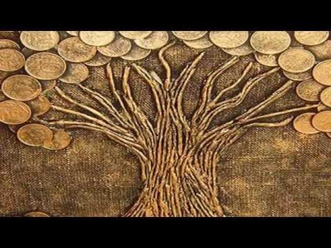 Денежное дерево,два варианта