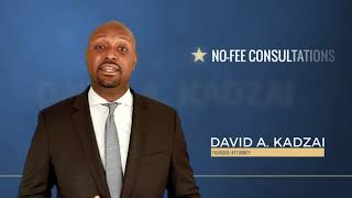The Law Offices of David A. Kadzai, LLC Video - How to Know If You Have a Personal Injury Case | The Law Offices of David A. Kadzai, LLC