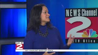 Kim Ross, WKTV NewsTalk, Cleaning Up your Diet Post Super Bowl