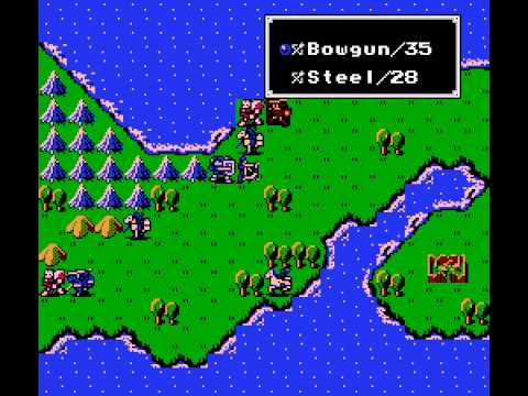 Fire Emblem (english translation) (NES) - Vizzed com GamePlay (rom hack)