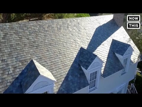 Tesla's Solar Roof Costs Less Than Normal Roofs | NowThis