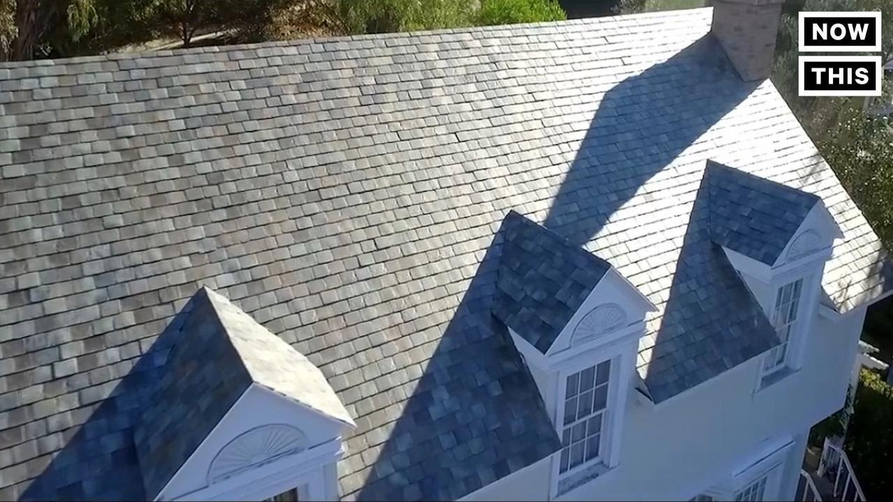 Solar Roof Cost >> Tesla S Solar Roof Costs Less Than Normal Roofs Nowthis