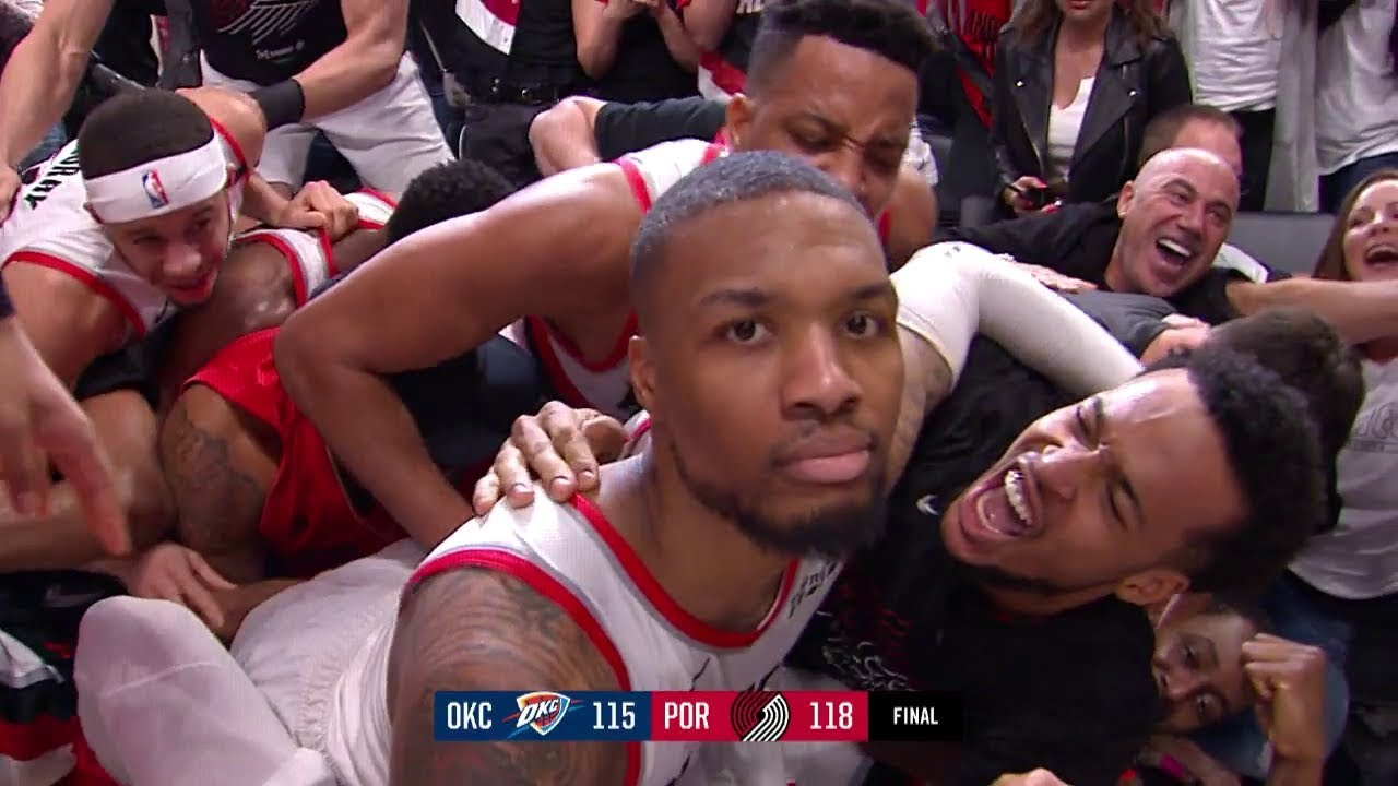 Damian Lillard Destroys The Thunder With Epic Game Winner
