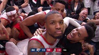 Damian Lillard DESTROYS the Thunder with EPIC GAME-WINNER - Game 5 | April 23, 2019