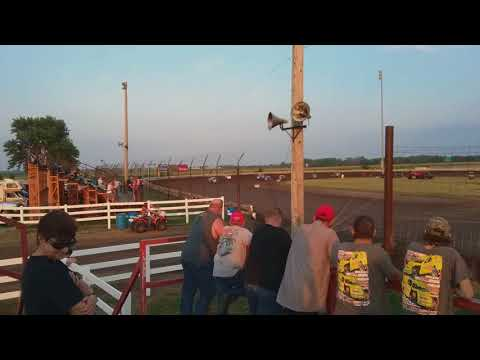 Lee County Speedway - Heat Race - 6/8/18