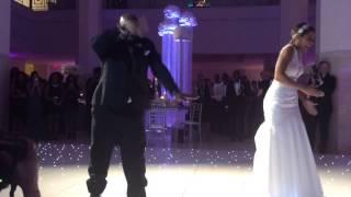 NFL Wedding Father Daughter wedding dance (coolest ever!!)
