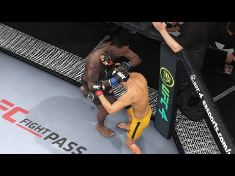 Israel Adesanya Vs. Bruce Lee - EA Sports UFC 4