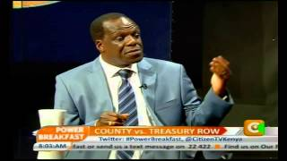 Power Breakfast: County vs Treasury Row