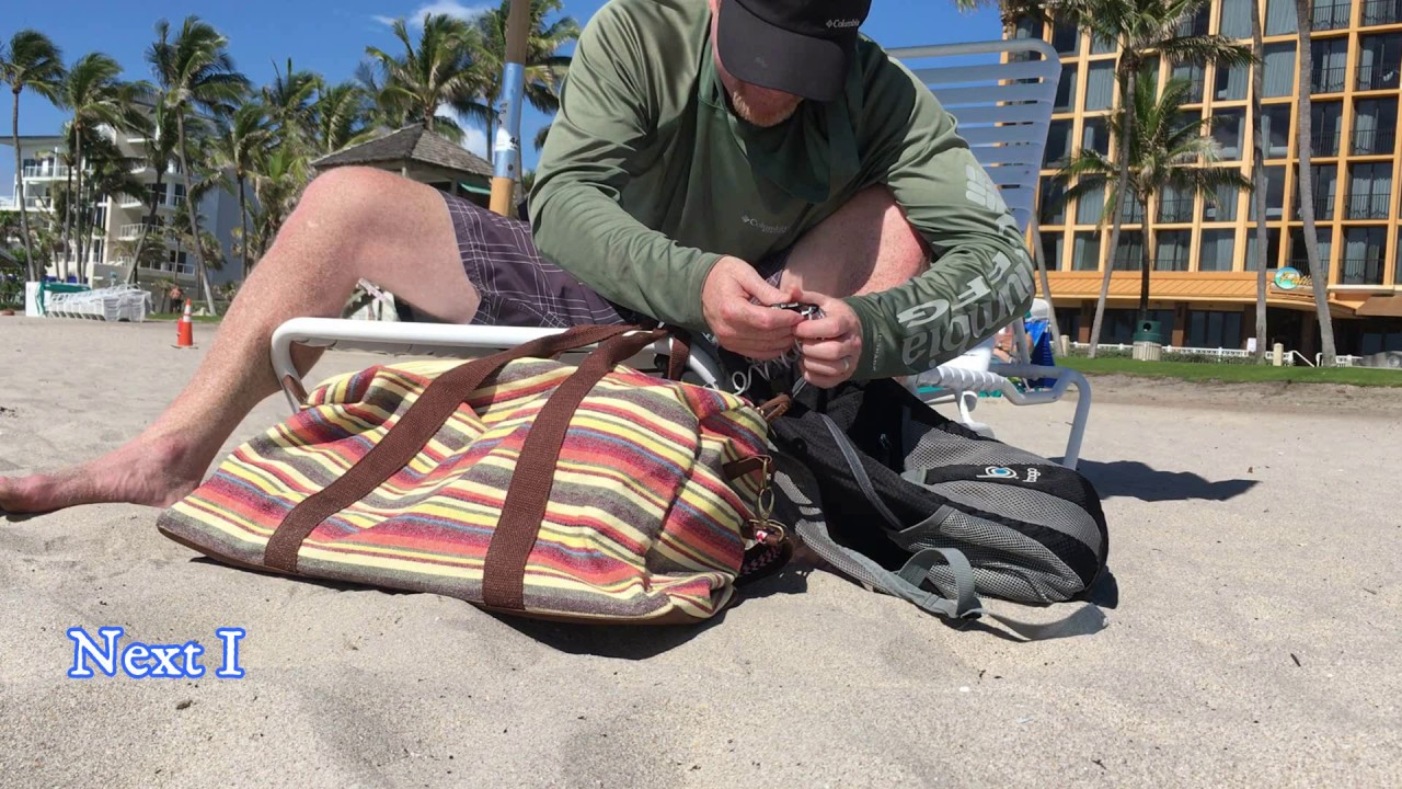 Beach Bag Security Hack How To Lock Up Your Bags At The Https Locks