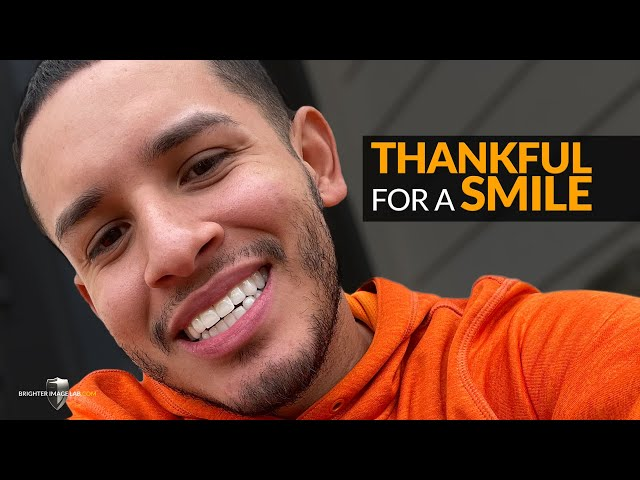 Thankful for a Smile Makeover by Brighter Image Lab