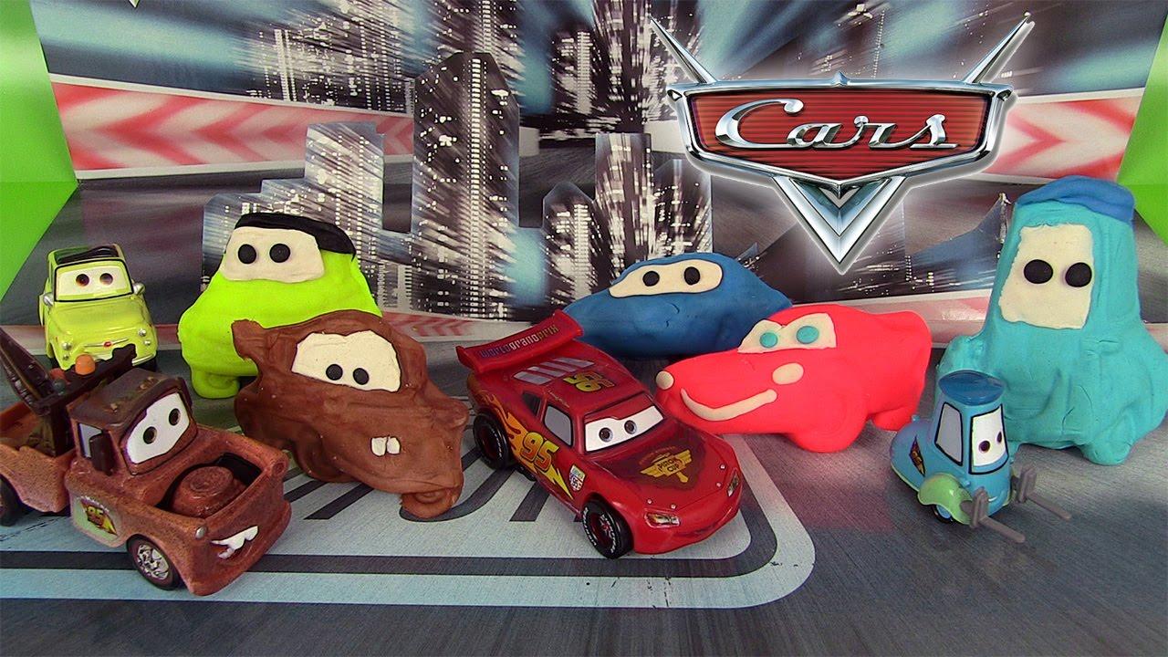 p 226 te 224 modeler dido disney pixar cars figurines disney store flash mcqueen martin