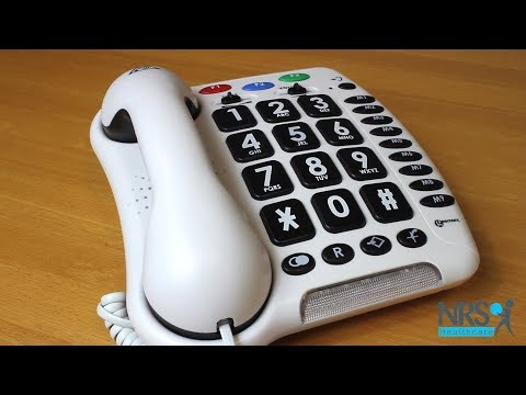 Geemarc CL100 Big Button Telephone Review