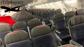 American A321 (A32B) Main Cabin Review