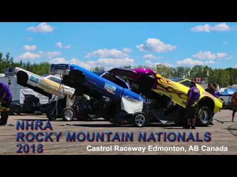 NHRA Rocky Mountain Nationals 2018 Alcohol Funny Cars