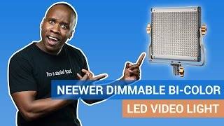 Neewer Bi-color LED Video Light Review: Great Budget Video Light