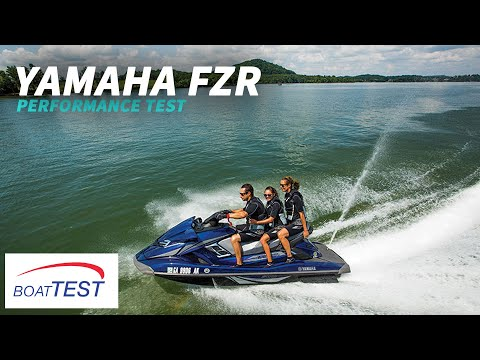Yamaha FZR Test 2014- By BoatTest.com