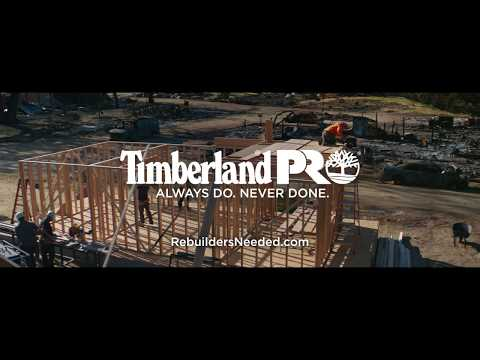 Timberland Pro campaign seeks more trade workers to help communities rebuild and thrive