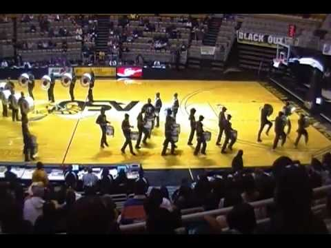Alabama State University Drum Line Spring 2012 - YouTube