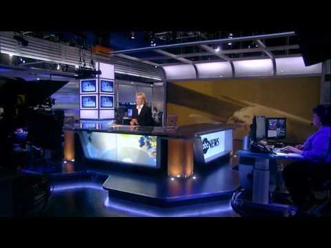 ABC News new anchor desk & set (World News With Diane Sawyer)
