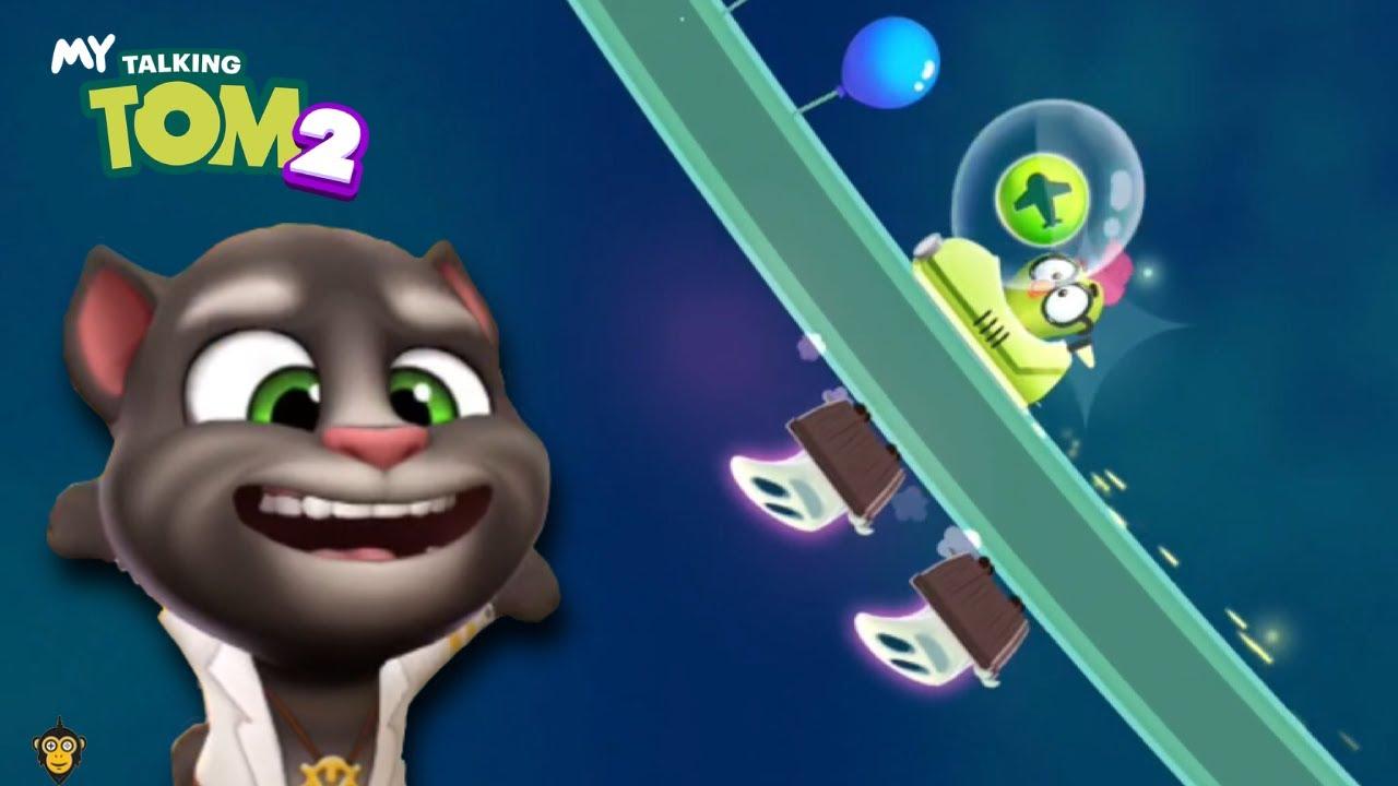 My Talking Tom 2 - Gameplay Walkthrough Part 6 - Spooky Train (iOS, Android)