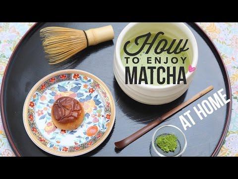 Ritualul de preparare al ceaiului matcha