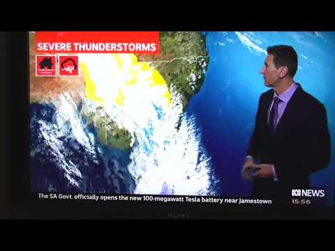Radio Graham - Big Storms Brewing In Canberra