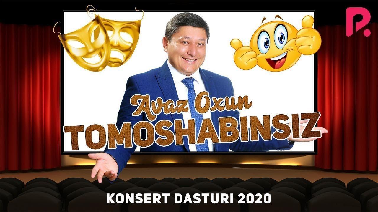 Avaz Oxun - Tomoshabinsiz konsert dasturi 2020 (UYDA QOLING)