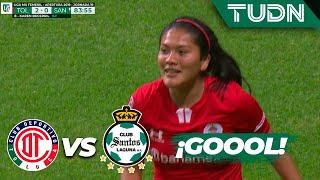 ¡Esto es obra de magia! | Toluca 2 - 0 Santos | Liga MX Femenil - AP 2019  - J19 | TUDN