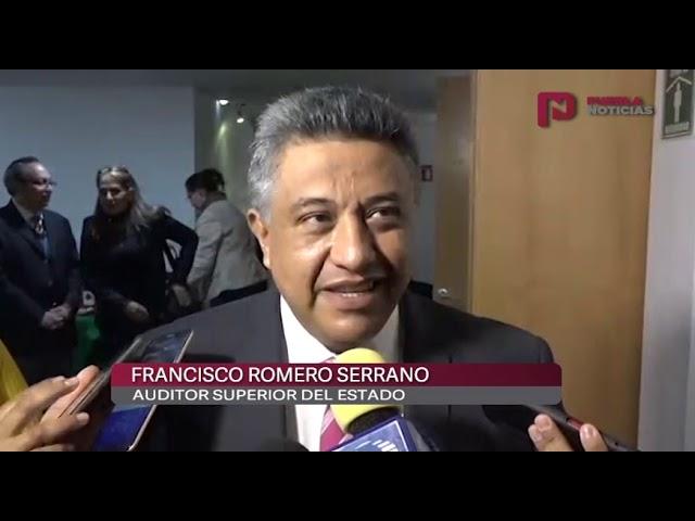 #PueblaNoticias Auditoría prepara informe sobre obras realizadas en administraciones pasadas