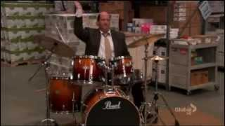 The Mad Drummer en The Office temporada 8 capitulo 7