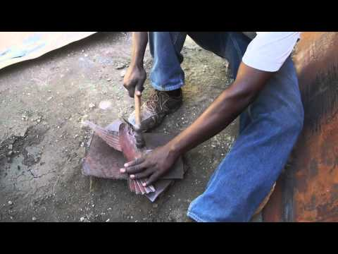 Cut Metal from Haiti