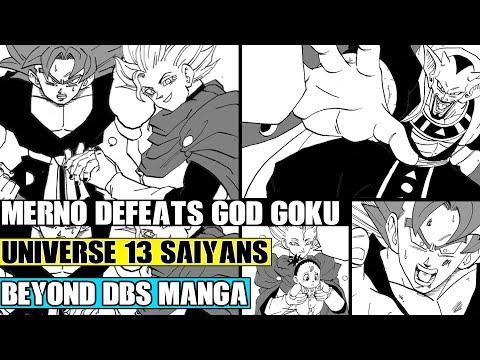 Beyond Dragon Ball Super: The New Angel Defeats Goku! Merno Explains The Universe 13 Saiyans And God