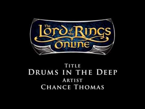 #4: Lord of the Rings Online Soundtrack - Chance Thomas - Drums in the Deep
