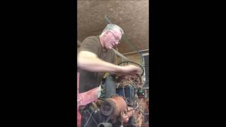 Pulling a sleeve on a Ford 8N