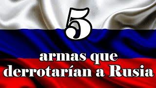 5 armas que derrotarían a Rusia | Mike Beta tops