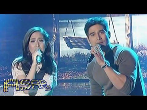 Jolina Magdangal sings 'Kapag Ako Ay Nagmahal' with Piolo Pascual on ASAP