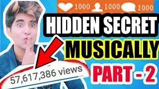 MUSICALLY HIDDEN SECRET FEATURE NEW 2018 | MUSICALLY VIDEO VIRAL LIKES INCREASE FREE FOLLOWER TRICK