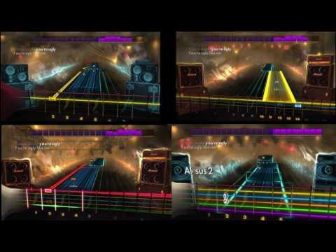 Rocksmith 2014 - Outside by Staind - Lead/Alt Lead/Rhythm/Bass